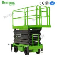 China 16m Height 500Kg Loading Capacity Hydraulic Lift Platform Stable Structure for sale