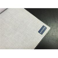 Bleached T / C Poplin Cloth Cotton Polyester Blend Fabric For Garment Textile Manufactures