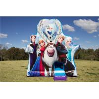 Buy cheap Indoor Or Outdoor Inflatable Bouncer , Frozen Team Kids Jumping Castle With PVC from wholesalers