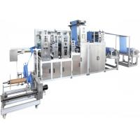 Buy cheap Biodegradable Non Woven Cloth Making Machine 10.5KW Ultrasonic PLC Control from wholesalers