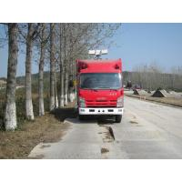 Large Capacity Motorized Fire Truck ISUZU Gas Supply ISO9001 Certificated Manufactures