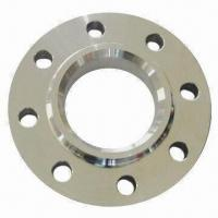 Quality Flange, Made of Carbon Steel, Comes in Welding Neck, Slip-on and Blind Types for sale