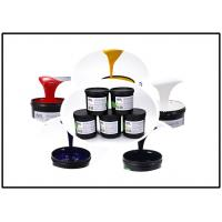 Multi - Color UV Silk Screen Ink , Smooth UV Screen Printing Ink For Plastic Manufactures