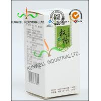 Buy cheap Metallic Lamination Medicine Packaging Box , Vials Bottle Cardboard Packing Boxes from wholesalers