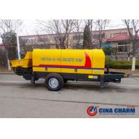 China High Work Efficiency Hydraulic Concrete Pump , Electric Concrete Pump 80m3/H on sale