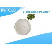 Natural L-Theanine 98% White Powder Cas 3081-61-6 Green Tea Extract Manufactures