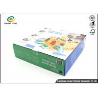 Big Corrugated Packaging Box For Barbie Toy Gold / Silver Foil Stamping Manufactures