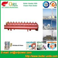 Low Loss Boiler Header Manifolds / Boiler Steam Header Non Pollution Manufactures