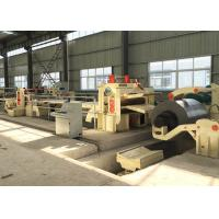 Stainless Steel Metal Slitting Line Machine 6 - 20 mm Material Thickness for sale