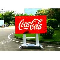 Digital Outdoor Led Billboard Display Signs P4 For Business , 16 / 9 Gold Ratio Manufactures