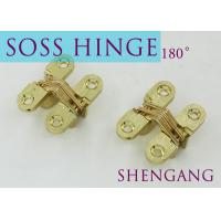 """Quality SOSS Mortise Mount Invisible Concealed Door Hinges With 4 Holes 2-3/4"""" Leaf for sale"""