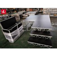 0.8m Height Acrylic Stage Platform Flexible Steel Ring Lock Layher Retractable Manufactures