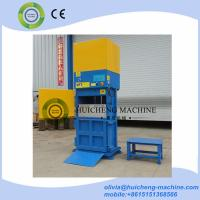 Quality trash bin hydraulic compactor/ food compress baler machine/compress machine for garbage packaging station for sale