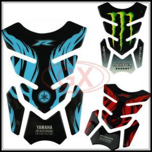 China Motorcross Fuel Tank Pads Sticker Motorcycle Fish Bone Sticker Oil Tank Pads on sale