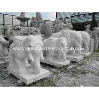 Hand Carved Sculpture Water Fountains For Decoration Granite Material Manufactures