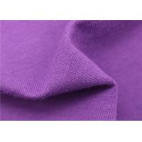 Knitting Terry Jersey Blend Fabric Polyester Cotton Blend High Density Manufactures