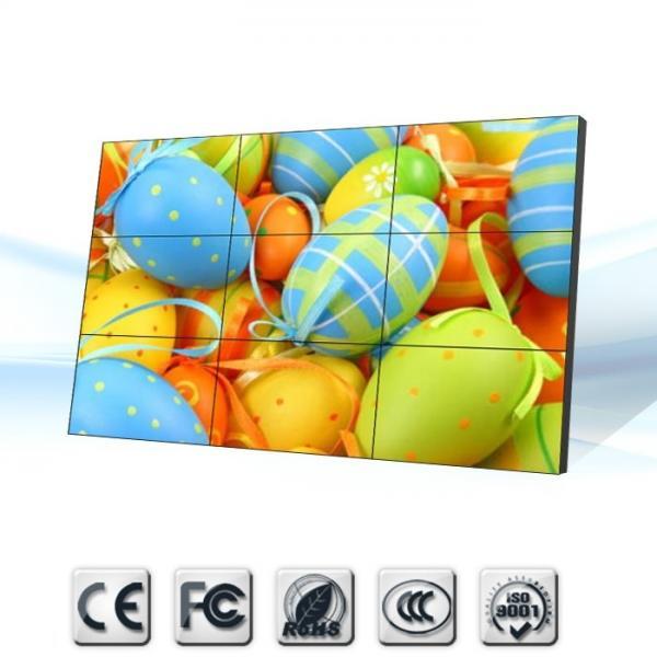 Quality 3 x 3 1080P 3D samsung video wall displays Rental , Hosipital Restaurant lcd digital signage for sale