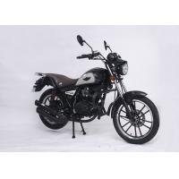 China CDI Ignition 125cc Street Legal Motorcycle Stable Durable Frame Black Color on sale