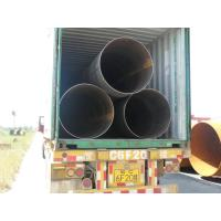 "Spiral Welded API 5L Steel Pipe 4"" - 131.5"" For Piles , Bared / Varnished , Q345 L245 L290 L360 Manufactures"