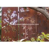 China High Strength Laser Cut Corten Steel For Sculpture Decoration and Curtain Wall on sale