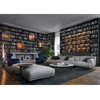 Sectional Sofa Set Hotel Lobby Furniture With Marble Coffee Table Manufactures