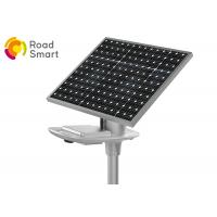 210lm/W Commercial Solar Street Lights , Solar Panel Street Lamps 1V Manufactures