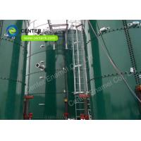 China Glass Fused to Steel Potable Water Storage Tanks Easy To be installed Without the Effect Weather on sale