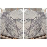 A Grade New York Marble slab from Project marble supplier Polished White Marble Tiles, New York White Marble Manufactures