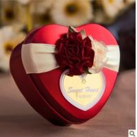 Color Heart Shape Tin Box For Candy/Sweet/Chocolate/Cookies