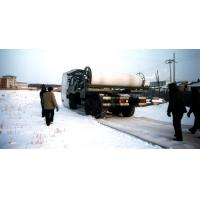 100m Snow Area Transport Semi Trailer Soft Surface Layer Polyester Composite Materials