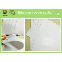 Coated Two Sides Glossy Printing Paper For Magazines Waterproof Manufactures