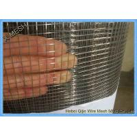China 1/4 Inch 1/2 Inch 1 Inch Galvanized Welded Wire Mesh For Fence SGS Approved on sale
