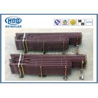 Anti Corrosion Industrial Boiler Superheater Tube , Fuel Gas Superheater High Speed Heating Manufactures