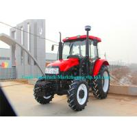 Heavy Duty Agriculture Farm Machinery Taishan Tractor EURO 2 4x4 / 4x2 90HP Manufactures