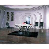 Ltalian Leather Dining Chair, Stainless Steel Modern Dining Room Furniture Manufactures