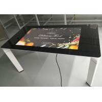Buy cheap 43 Inch Coffee Table Capacitive Touch Display Interactive Touch Table from wholesalers