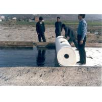 Polyester Filament Woven Geotextile Fabric for Reinforcement , Subsurface Drainage Manufactures