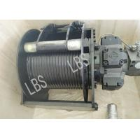 China Export Hydraulic Crane Winch with 4 Ton Maximum Traction Force on sale