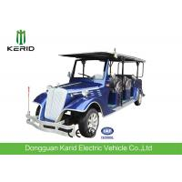 Quality Electric Vintage Cars For 8 Passengers , Multi Passenger Golf Carts 48V Battery Operated for sale