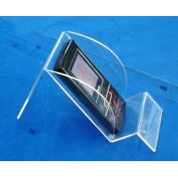 China Tablet PC Clear Cast Acrylic Plastic Display Holders For Ipad on sale
