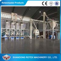 Complete Biomass Fuel Briquette Pellet Manufacturing Machine With CE ISO Manufactures