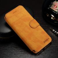 IPhone 7 Plus Cell Phone Leather Wallet Case Vintage Style Slim Fit 87.6g Manufactures