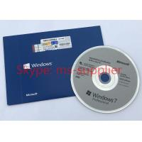 China Windows 7 Pro Product Key COA License Sticker OEM Online Activation Stable Business on sale