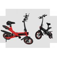 White / Black / Red Fold Up Electric Bike , Electric Mini Bike For Adults Manufactures