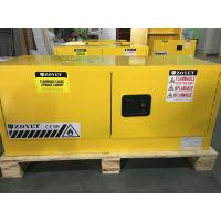 Horizontal Flammable Industrial Safety Cabinets Piggyback With Doors 12 GAL Manufactures