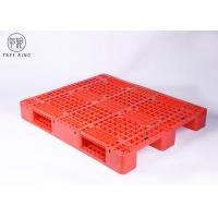 Quality Medium Duty Molded Plastic Pallets With Steel Bar Racking Load 1200 * 1000 * 170 mm for sale