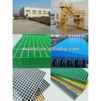 China frp molded grating 38x38,19x19,50x50mm,16 to 65mm thickness on sale