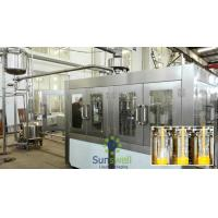 High Pressure Hot Tea Filling Machine Bottled Drink , stainless steel Manufactures