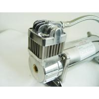 24V 12v Air Suspension Pump With Tank 150 Psi , Engine Driven Air Compressor For Air Ride 2.0 Gallon Manufactures
