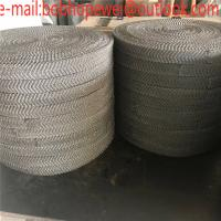 China Stainless Steel Gas Liquid Knitted Wire Mesh /Oil Demister Knitted Stainless Steel Wire Mesh/Knitted Wire Mesh on sale